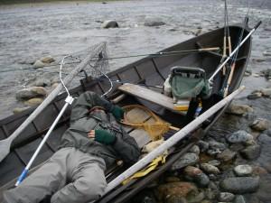 Väsynyt kalamies